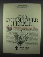 1967 Central Soya Ad - Called Foodpower People