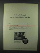 1967 Warner & Swasey Field Engineers Ad - The Eagle