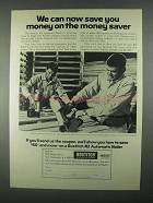 1967 Bostitch N2 Automatic Nailer Ad - Money Saver