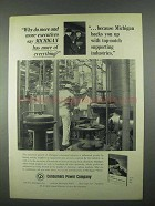 1967 Consumers Power Company Ad - More of Everything