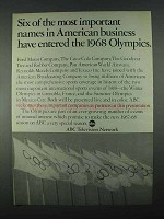1967 ABC Television Network Ad - The Olympics