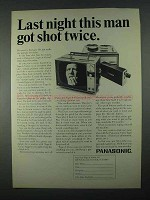 1967 Panasonic Tape-A-Vision Video Tape Recorder Ad