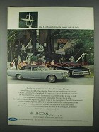 1967 Lincoln Continental Sedan Ad - Never Out of Date