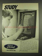 1967 Ford Motors Ad - Study