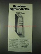 1967 Bauer E-160 Flash Ad - Not New, Bigger and Better