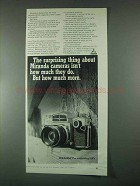 1967 Miranda Camera Ad - Surprising Thing