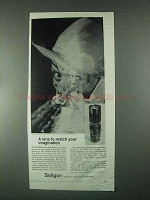 1967 Soligor 90-230mm f4.5 Lens Ad - Match Imagination