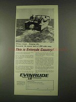 1967 Evinrude Starflite 100-S Outboard Motor Ad