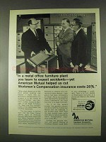 1967 American Mutual Insurance Ad - Expect Accidents