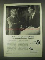 1967 American Mutual Insurance Ad - Exolon's Costs