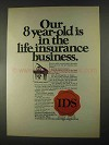 1967 IDS Investors Syndicate Life Insurance Ad