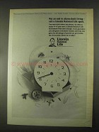 1967 Lincoln National Life Ad - End Alarm-Clock Living