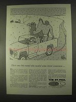 1967 The St. Paul Insurance Ad - This Camel Needed