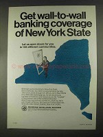 1967 Marine Midland Banks Ad - Open Doors for You