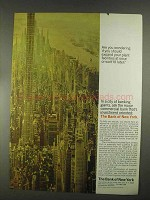 1967 Bank of New York Ad - Expand Your Facilities