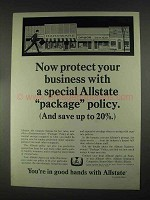 1967 Allstate Insurance Ad - Special Package Policy
