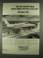 1967 Handley Page Jetstream Ad - Fast Flying