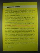 1967 Hughes Aircraft Ad - A New Infrared Missile