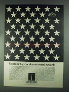 1967 Lockheed Manned Space Program Ad - Down-to-Earth