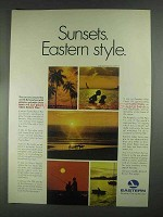 1967 Eastern Airlines Ad - Sunsets