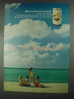1967 Falstaff Beer Ad - What A Time For