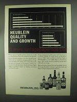 1967 Heublein Liquors Ad - Quality and Growth