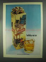 1967 Early Times Bourbon Ad - Holiday on Ice