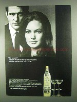 1967 Seagram's Extra Dry Gin Ad - Our Secret?