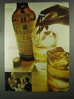 1967 Seagram's V.O. Whisky Ad - Takes You Forever