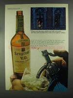 1967 Seagram's V.O. Whisky Ad - Income Catches Up