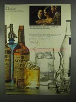 1967 Seagram's V.O. Whisky Ad - Knack for Parties