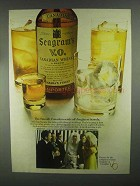 1967 Seagram's V.O. Whisky Ad - Sends Off Daughters