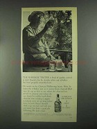 1967 Jack Daniel's Whiskey Ad - The Whiskey Taster