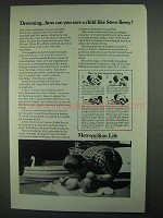 1967 Metropolitan Life Ad - Drowning Save a Child