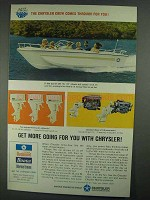 1967 Chrysler 17-Foot Courier 229 Boat Ad