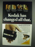 1967 Kodak Instamatic M12 Movie Camera Ad - Changed
