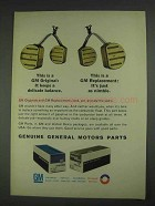 1967 GM Parts Ad - Carburetor Float