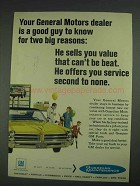 1967 GM General Motors Ad - For Two Big Reasons