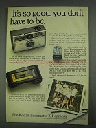 1967 Kodak Instamatic 104 Camera Ad - It's So Good