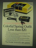 1967 Kodak Instamatic 104 Camera Ad - Colorful Outfit