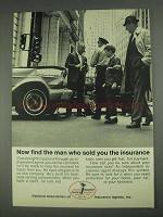 1967 National Association of Insurance Agents Ad