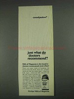 1967 Phillips' Milk of Magnesia Ad - Constipation?