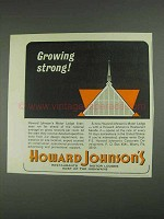 1967 Howard Johnson Motor Lodges Ad - Growing Strong