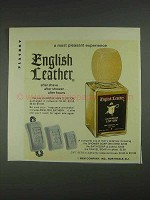 1967 English Leather All-Purpose Lotion Ad - Pleasant Experience