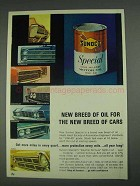 1967 Sunoco Special Long Mileage Motor Oil 10W-40 Ad - New Breed