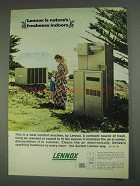 1967 Lennox Air Conditioner Ad - Freshness