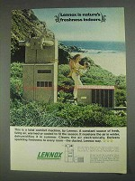 1967 Lennox Air Conditioner Ad - Nature's Freshness