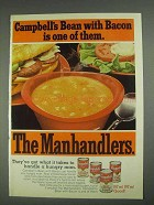 1967 Campbell's Bean with Bacon Soup Ad - Manhandlers
