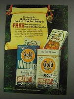 1967 Gold Medal Flour Ad - Holiday Hostess