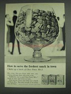 1967 Ralston Chex Cereal Ad - Freshest Snack in Town